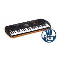 CASIO SA76 Tastiera 44 Tasti Mini Bundle Speciale Scuola