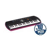 CASIO SA78 - Tastiera 44 Tasti Mini Bundle Speciale Scuola