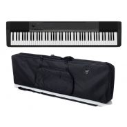 Casio CDP 130 BK Set - Pianoforte Digitale Nero con Borsa