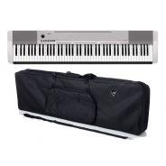 Casio CDP 130 SR Set - Pianoforte Digitale con Borsa