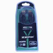 ZZIPP Cavo HDMI 2.0 Maschio/Maschio 1.5mt