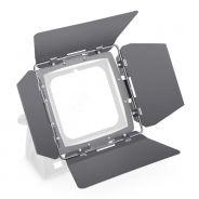 Cameo FLAT PRO FLOOD BARNDOOR - Deflettore con alette direzionali per CLFLOODIP65, nero