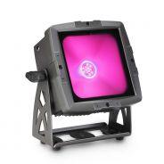 0 Cameo FLAT PRO FLOOD IP65 TRI - Proiettore da esterno con LED COB tricolore da 60 W in alloggiamento nero