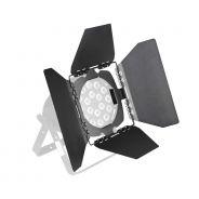 Cameo Studio PAR BARN DOOR 2 B - Deflettore con alette per Studio Par nero