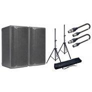 DB TECHNOLOGIES Coppia OPERA 15 Speaker Attivo 1200W / Stativi / Cavi XLR 10mt