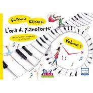 Curci Young L'Ora di Pianoforte Volume 1 - Metodo Pratico e Progressivo per Principianti