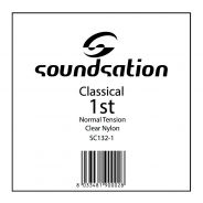 0 SOUNDSATION - Corda per classica MI cantino 0.28 - Normal tension