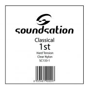 0 SOUNDSATION - Corda per classica MI cantino 0.285 - Hard tension
