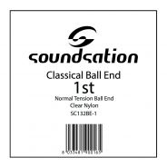 0 SOUNDSATION - Corda per classica MI cantino 0.28 Ball end - Normal tension
