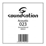 SOUNDSATION - Corde per chitarra acustica serie SAW - 0.23