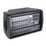 0 SOUNDSATION - Mixer amplificato 8 canali da 300W max. con Bluetooth™, effetti e lettore MP3