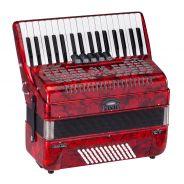 0 SOUNDSATION - Fisarmonica 72 bassi rossa