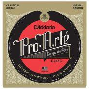 D'Addario Pro Artè EJ45C Muta per Chitarra Classica Normal Tension 028-032
