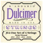 D'Addario J64 - Muta 4 Corde Dulcimer