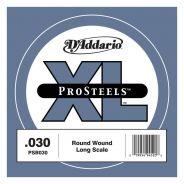 D'Addario PSB030 - Singola per Basso Pro Steels (030)