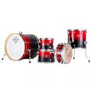 Dixon FS522 SS SCRF Fuse Maple Candy Red Fade