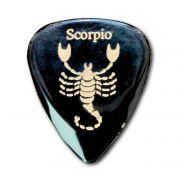 """0 TIMBERTONES - 1 Plettro con segno zodiacale """"Scorpione"""""""