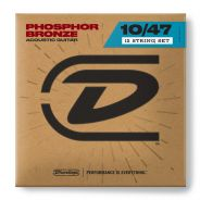 1 Dunlop DAP1047J Acoustic Phosphor Bronze Light Set 12