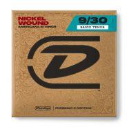 1 Dunlop DJN0930 Set 4 Corde Singole per Banjo Tenor Nichel Wound
