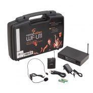 Soundsation WF U11PD - Radiomicrofono UHF Plug&Play con Trasmettitore Tascabile e Archetto