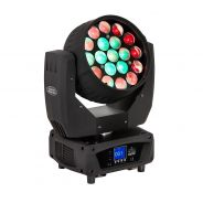 0 SOUNDSATION THESIS 1912 ZOOM - Testa Mobile 19 LED Da 12W 4IN1 Con Zoom (Cartone)