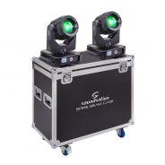 0 SOUNDSATION SPIRE 200 BEAM SET - Kit Composto Da Due Teste Mobili SPIRE 200 BEAM Con Flight Case