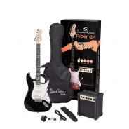 0 SOUNDSATION RIDER GP BK - Guitar Pack Elettrico - Black