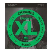 D'ADDARIO ECB80 - Muta per Basso Elettrico Chrome Super Light (040/095)