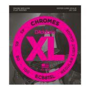 D'ADDARIO ECB81SL - Muta per Basso Elettrico Chrome Regular Light (045/100)