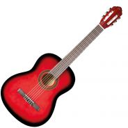 1 EKO CS10 Chitarra Classica 4/4 Red Burst
