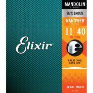 0 Elixir 11525 MANDOLIN 80/20 BRONZE NANOWEB Corde