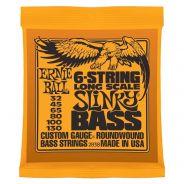 ERNIE BALL - 2838 - 6-String Long Scale Slinky Bass