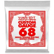 1 Ernie Ball 1168 Nichel Wound Corda Singola per Chitarra Elettrica .068