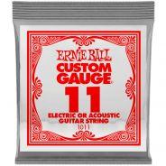 Ernie Ball P01011 - Corda Singola per Chitarra Acustica Elettrica .011