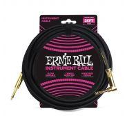 Ernie Ball Cavo per Strumenti Black 7.62mt