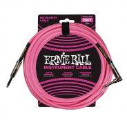 Ernie Ball Cavo per Strumenti Neon Pink 7.62mt