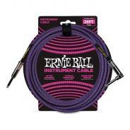 Ernie Ball Cavo per Strumenti Purple 7.62mt