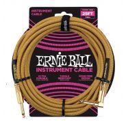 Ernie Ball Cavo per Strumenti Gold 7.62mt
