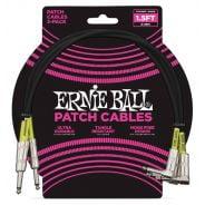 Ernie Ball 3 Cavi patch 45cm