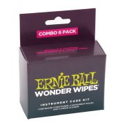 Ernie Ball Wonder Wipes Combo (6 pezzi)