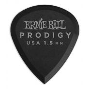 Ernie Ball P09200 Prodigy Mini Black - 6 Plettri Mini 1.5mm