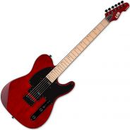 ESP LTD TE-200 See Thru Black Cherry - Chitarra Elettrica Rossa Tipo Telecaster