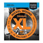 D'ADDARIO EXL110BT - Muta per Elettrica Regular Light Balanced Tone (010/046)