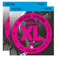 D'ADDARIO EXL170 - 2 Mute per Basso Elettrico Regular Light (045/100)