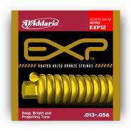 D'ADDARIO EXP12 - Muta per Acustica Coated Medium (013/056)