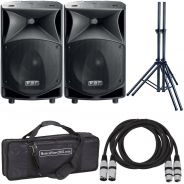 FBT JMaxX 114A (Coppia) - Casse Attive 900W Impianto DJ Karaoke Amplificato