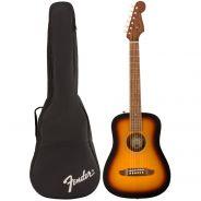 Fender Redondo Mini Sunburst Chitarra Acustica con Custodia