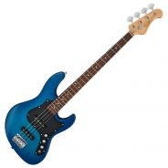 FGN BMJ-G Transparent Blue Sunburst - Basso Elettrico 4 Corde Blu Serie MJ