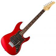 FGN JOS2CLG Candy Apple Red - Chitarra Elettrica Double Cut Rossa con Borsa