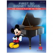 Hal Leonard First 50 Disney Songs You Should Play on the Piano